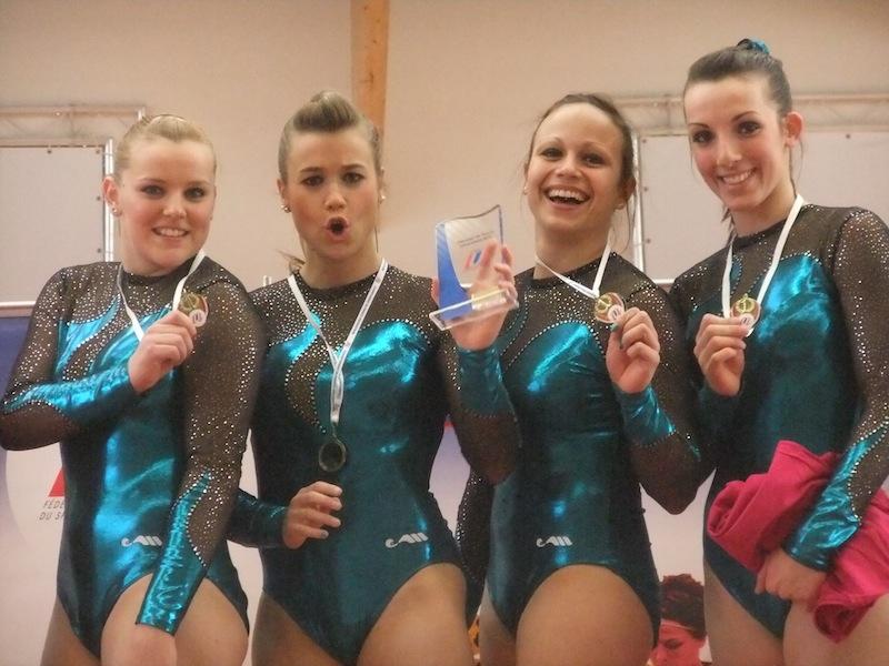 Gymnastique: CFU équipe fille