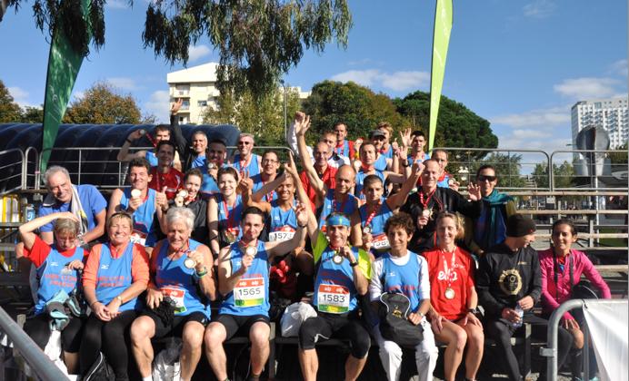L'équipe marathon à Porto en 2013