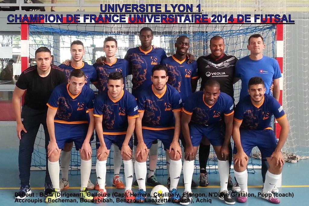 Lyon 1 CFU Futsal garçons