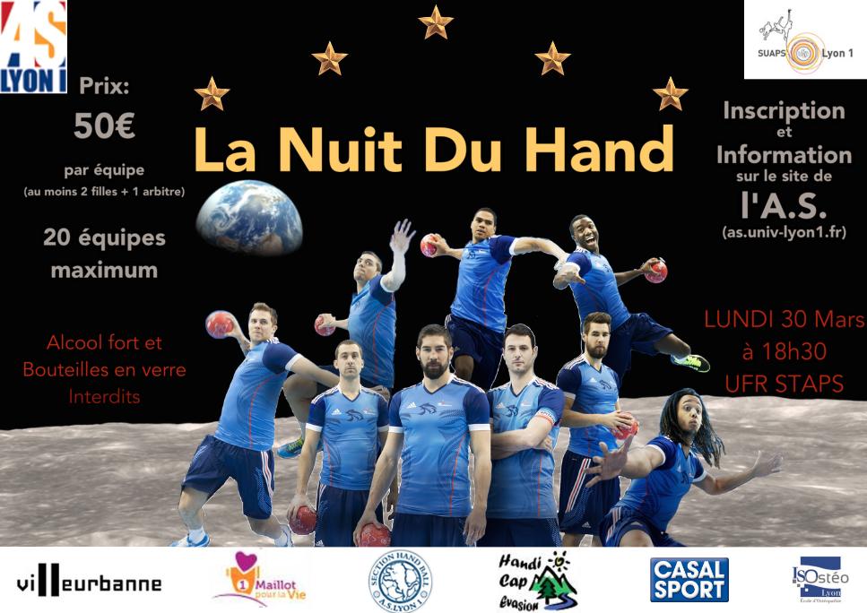Nuit du Hand 2015