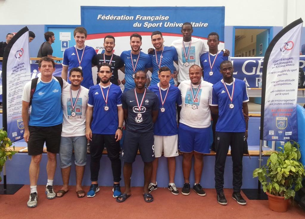 Futsal garçons CFU Nice 2015