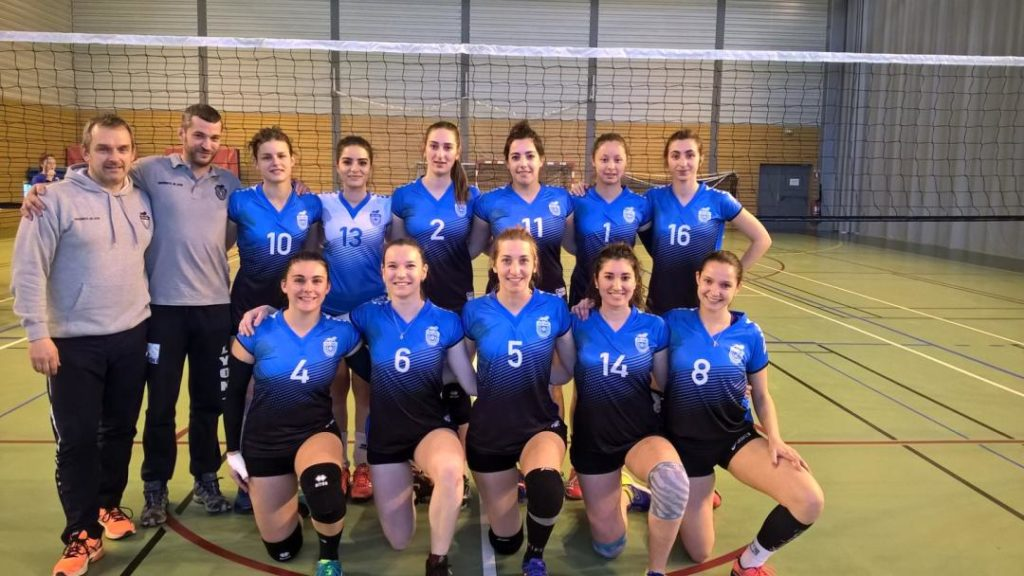 UDL féminin Volley 2018