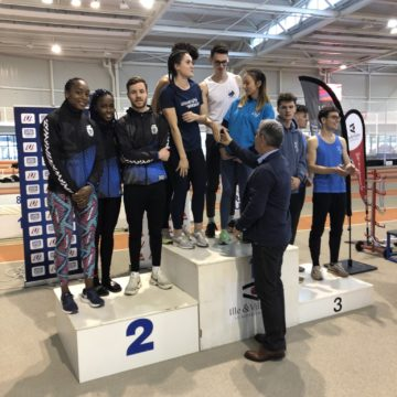 Podium Challenge Sauts - CFU athlétisme indoor