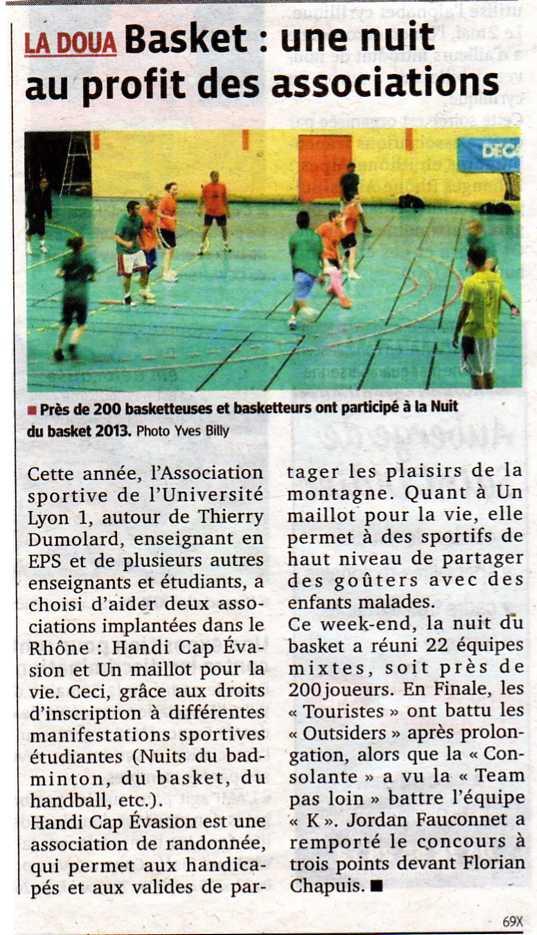 Nuit du Basket mai 2013