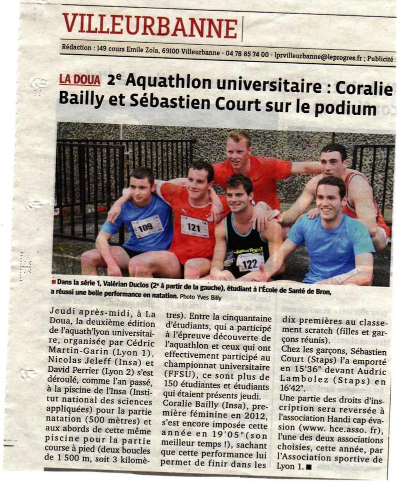 Aquath'Lyon 2013