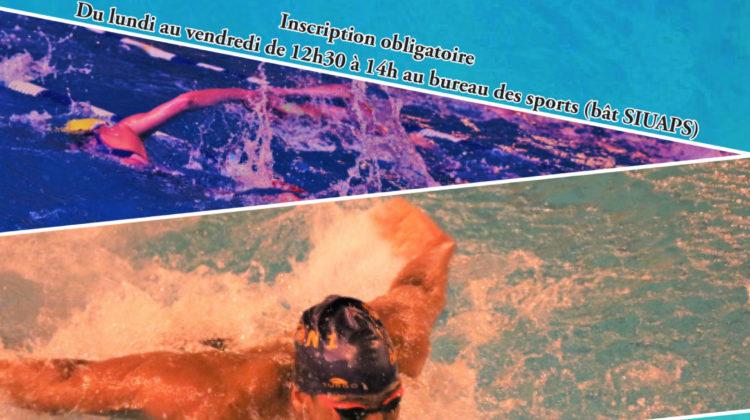 Pratique autonome natation