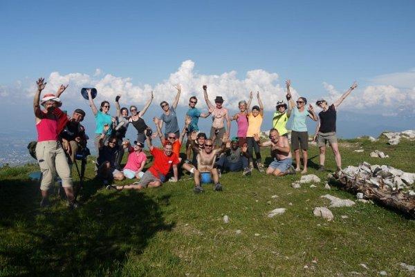 Le groupe des 4 montagnes 2019 au complet