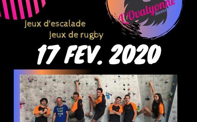 Affiche Jeux d'escalade Jeux de rugby