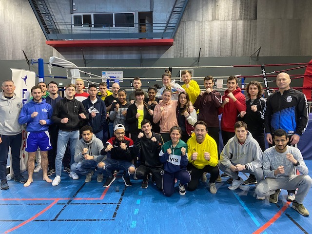 EQUIPE AS UDL CFU KICK BOXING 2020 au complet